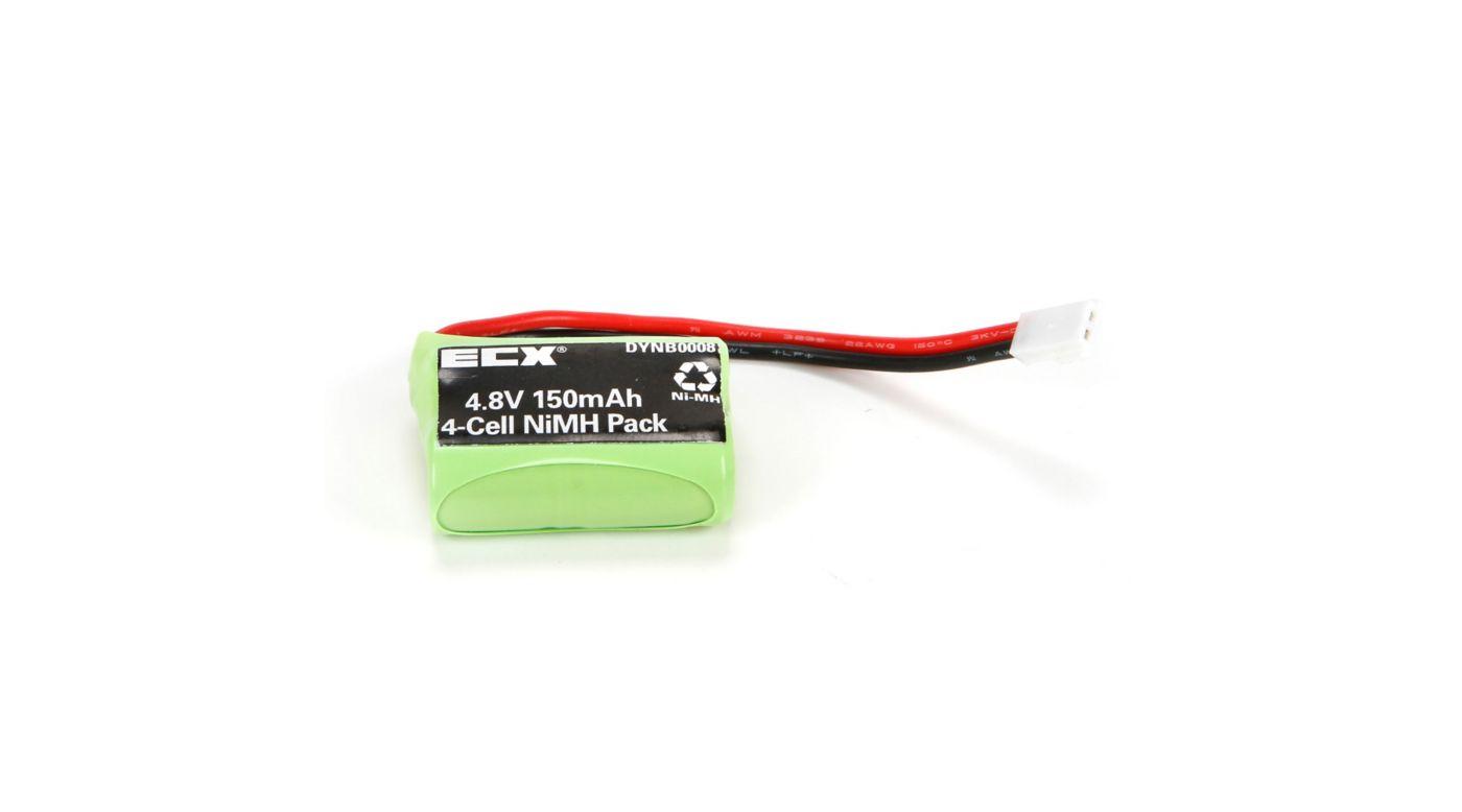 Image for 4.8V 150mAh Temper NiMH Battery: Molex from Horizon Hobby