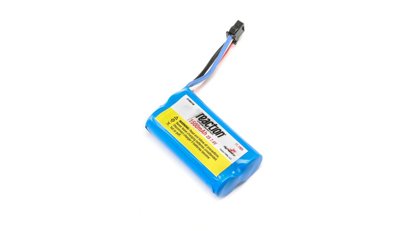 Image for 7.4V 1500mAh 2S LiIon: PRB React 17 from HorizonHobby