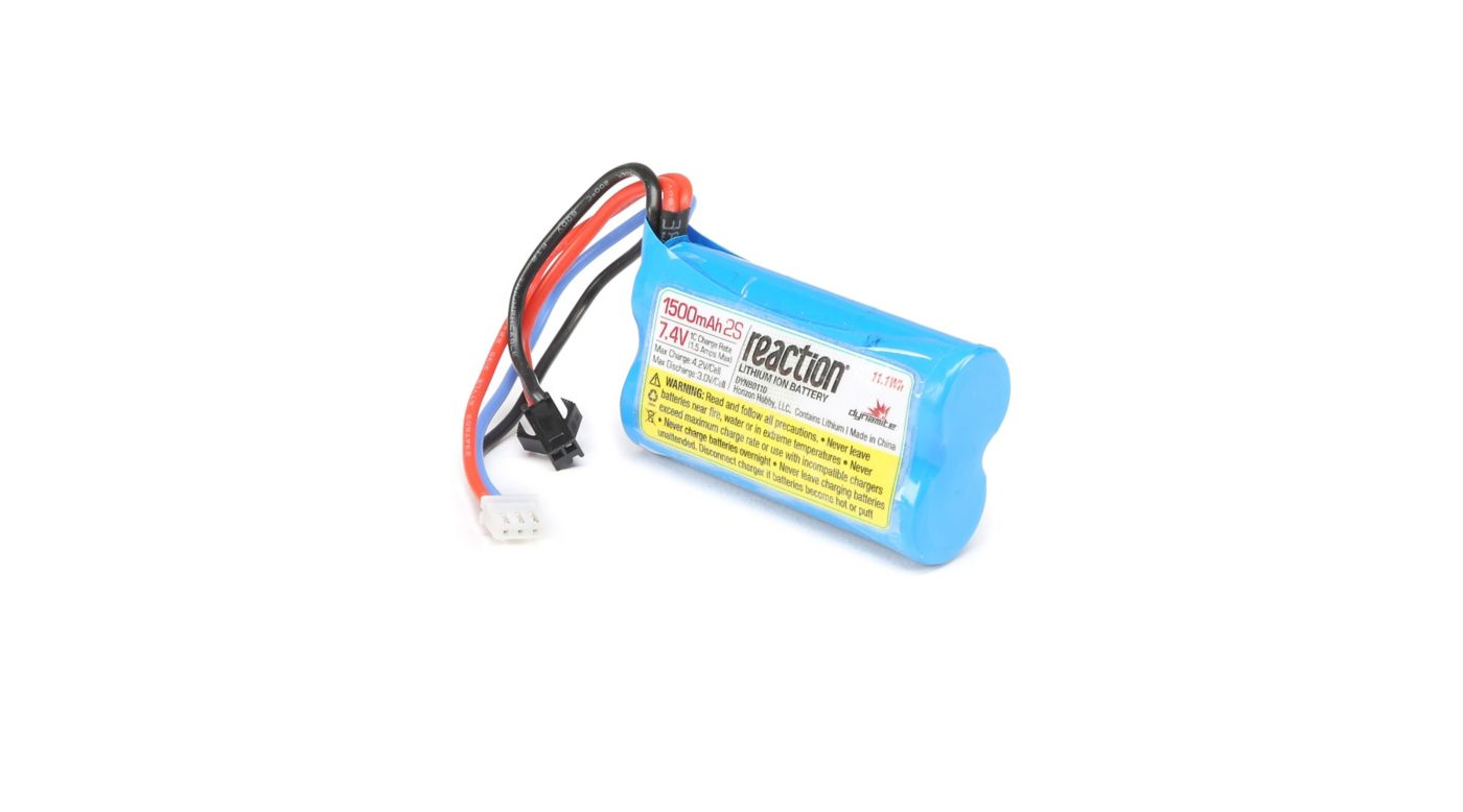 Image for 7.4V 1500 mAh 2S Li-Ion: Jet Jam from HorizonHobby