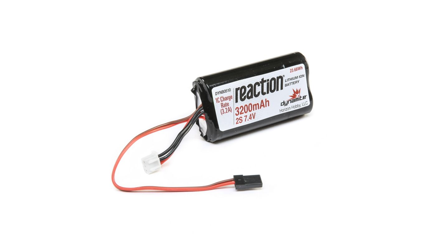 Image for 7.4V 3200mAh Li-Ion Receiver Pack from HorizonHobby