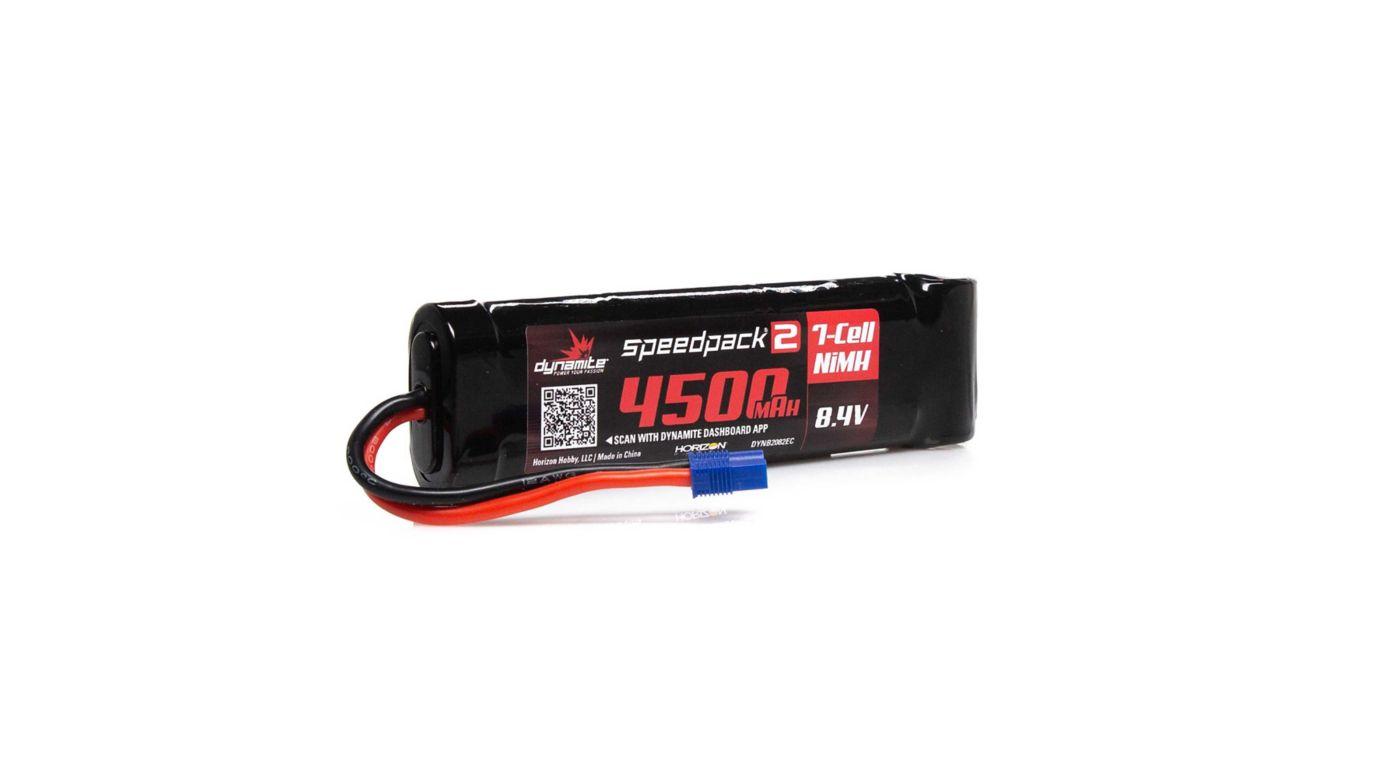 Image for 8.4V 4500mAh 7-Cell Speedpack2 Flat NiMH Battery: EC3 from HorizonHobby