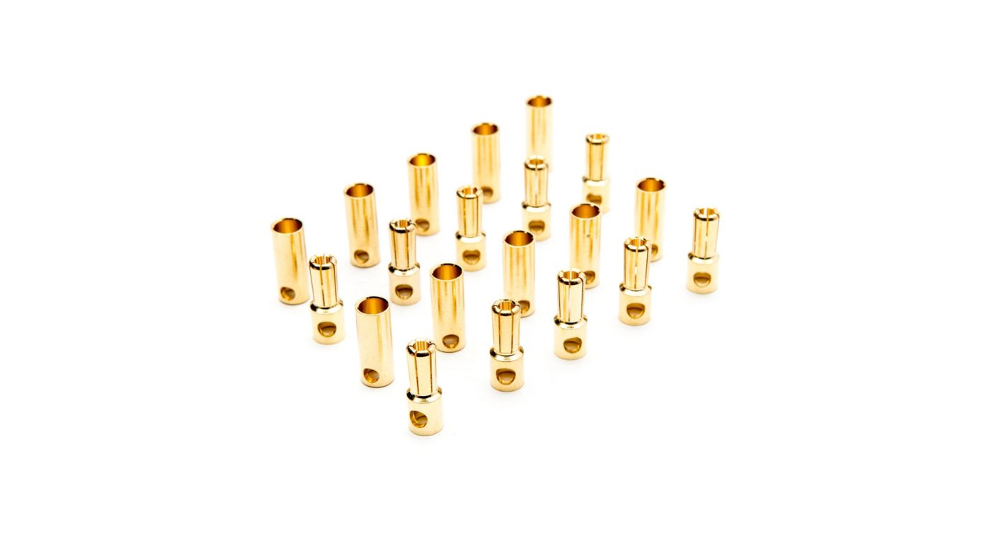 Image for Gold Bullet Connector Set, 5.5mm (10) from HorizonHobby