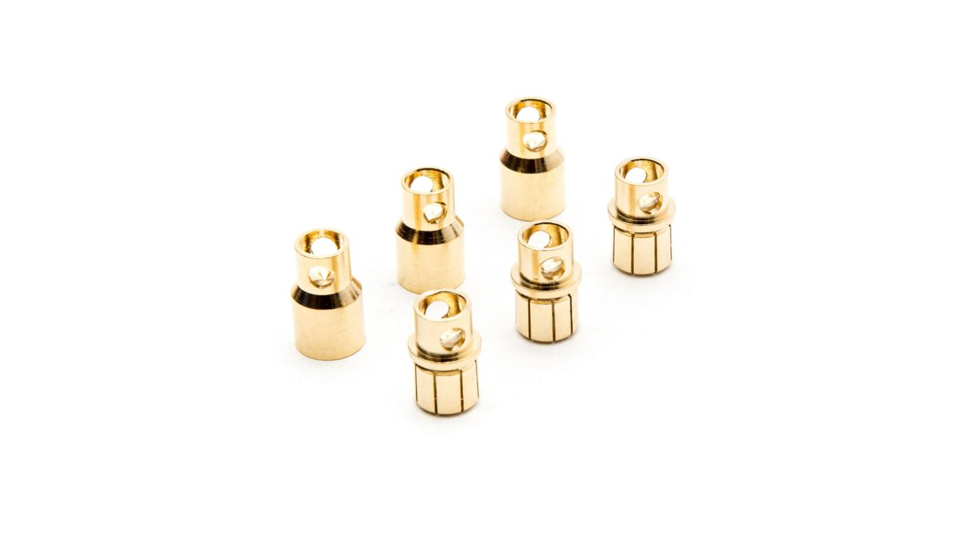 Image for Gold Bullet Connector Set, 8.0mm (3) from HorizonHobby
