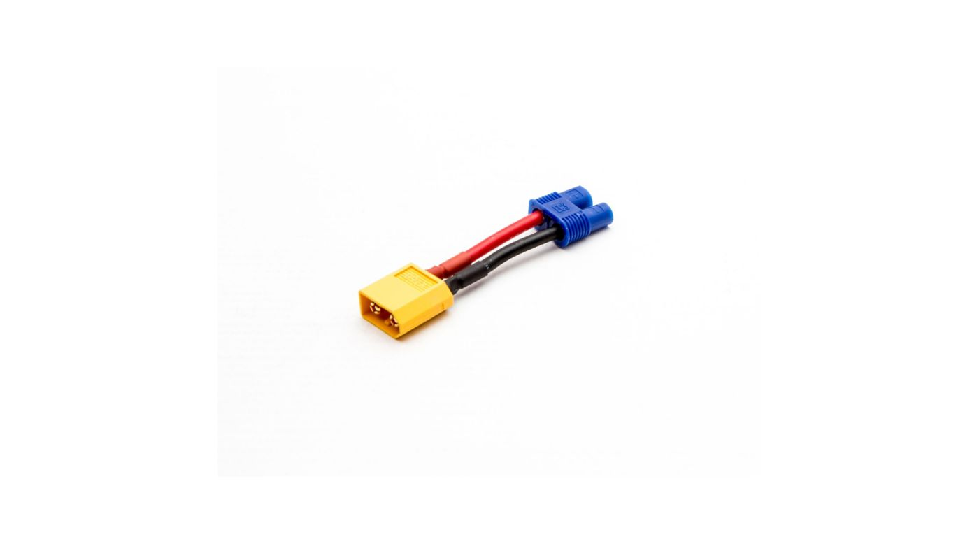 Image for XT60 Male to EC3 Battery from HorizonHobby