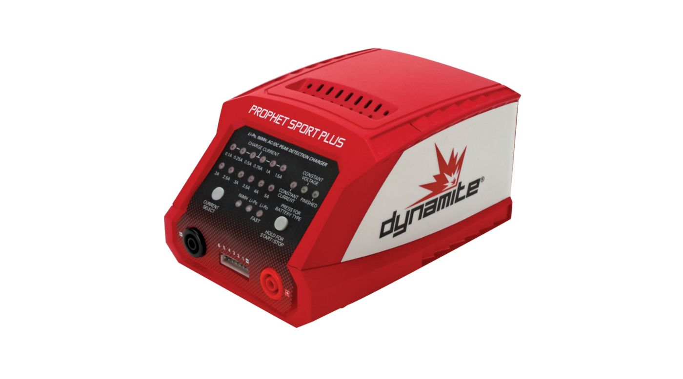 Image for Prophet Sport Plus 50W AC DC Charger from HorizonHobby