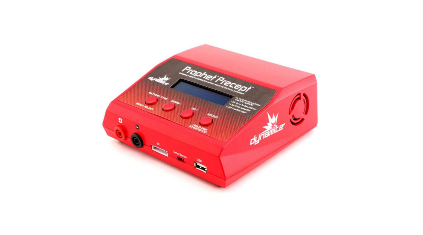 Image for Prophet Precept 80W LCD ACDC Battery Charger EU from Horizon Hobby