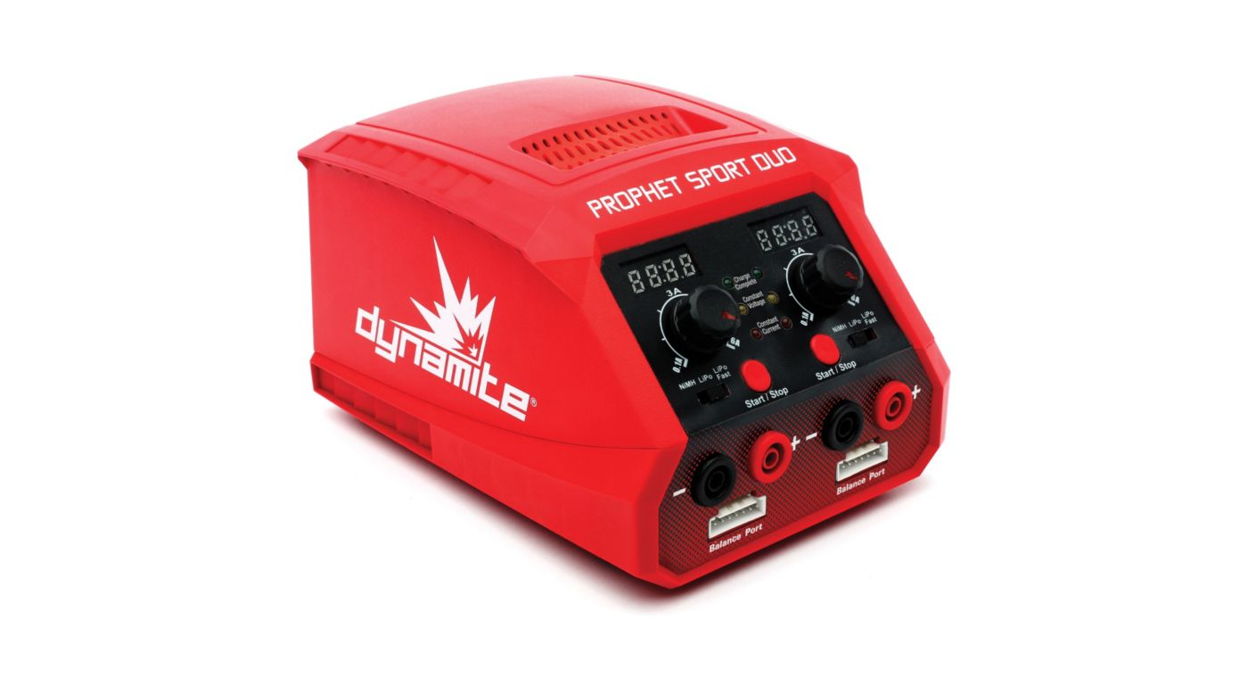 Image for Prophet Sport Duo 50Wx2 AC Battery Charger from HorizonHobby