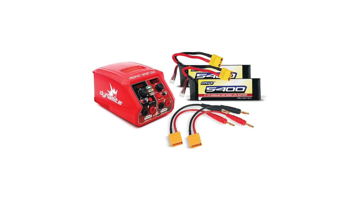 Image for ARRMA 6S Battery Charger Combo from HorizonHobby