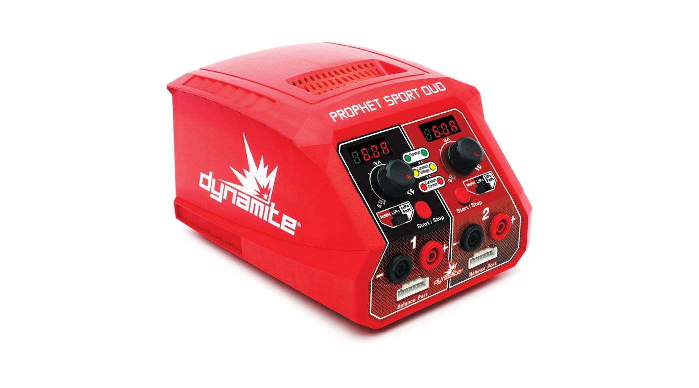 Image for Prophet Sport Duo 50W x 2 AC Battery Charger US from HorizonHobby