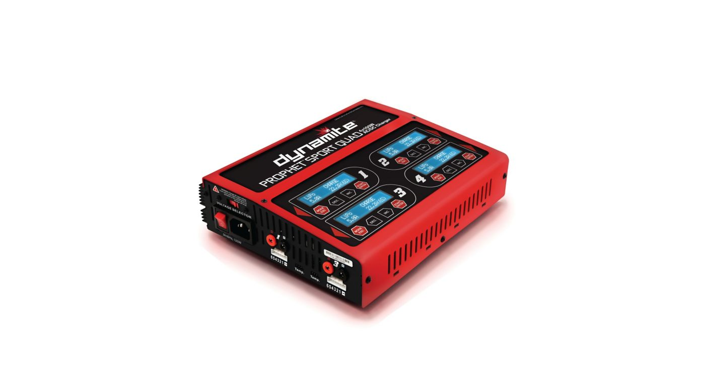 Image for Prophet Sport Quad 4 X 100W AC/DC Charger from HorizonHobby