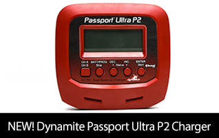 Dynamite Passport Ultra P2 2 Port AC/DC Charger