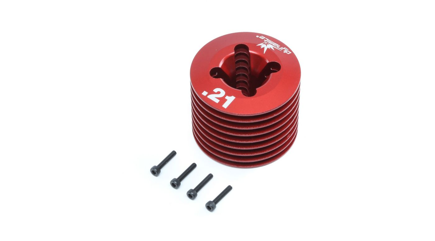 Image for Engine Head and Hardware: .21 8RTR from HorizonHobby