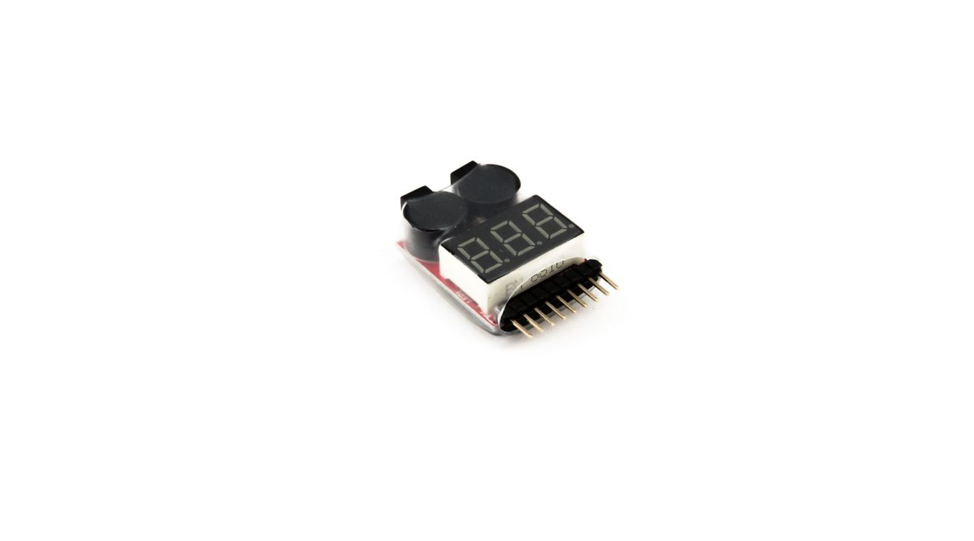 Image for LiPo Voltage Checker Warning Alarm from HorizonHobby