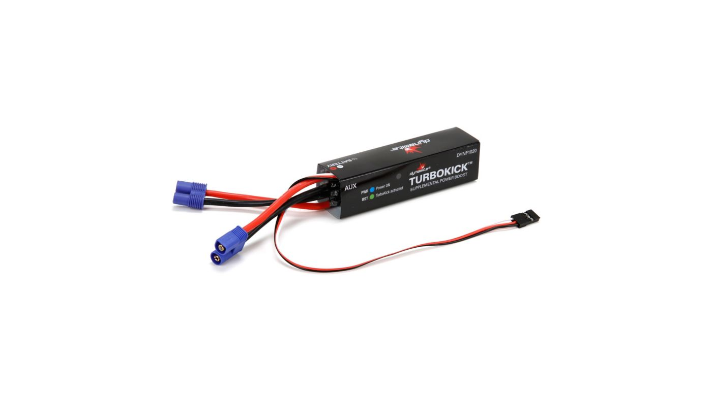 Image for TurboKick™ Supplemental Power Boost from HorizonHobby