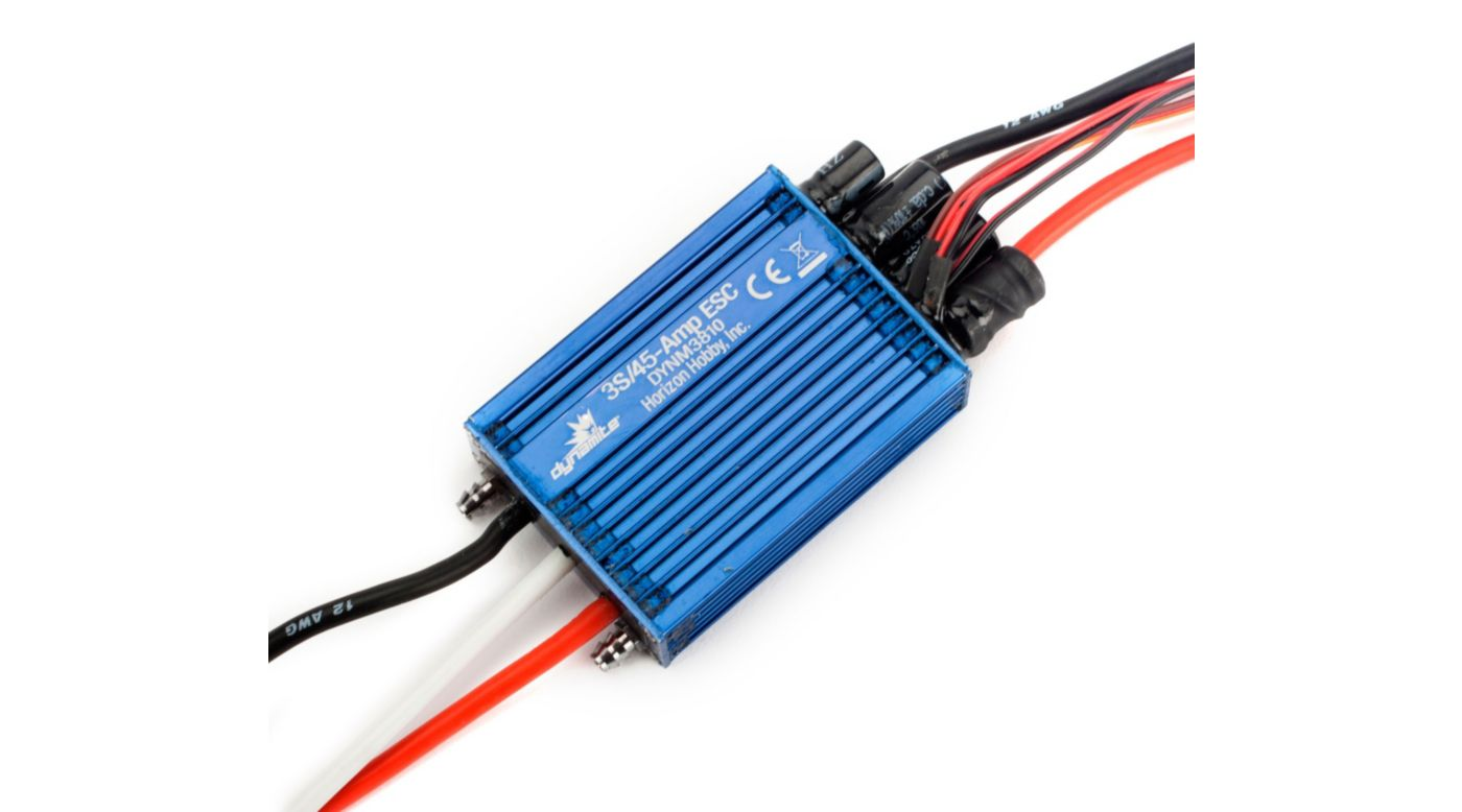 Image for 45A Brushless Marine ESC: Single Battery from HorizonHobby