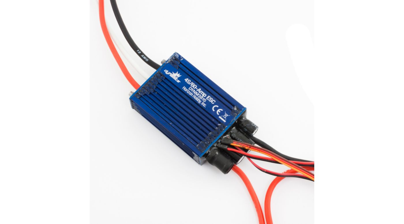 Image for 60A Brushless Marine ESC: Dual Battery from HorizonHobby