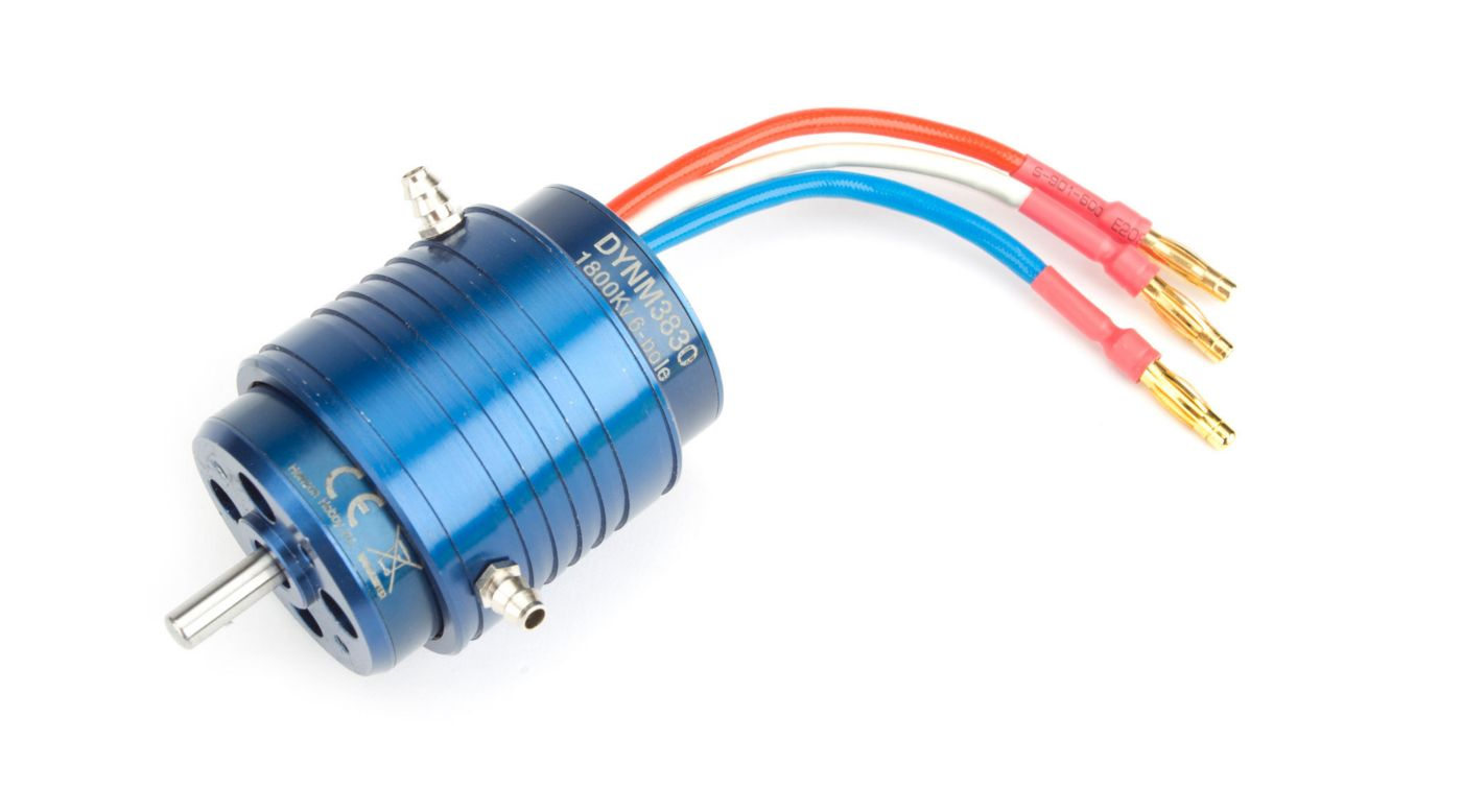 Image for A3630-1800Kv, 6-pole, Water-Cooled, Marine Motor from HorizonHobby