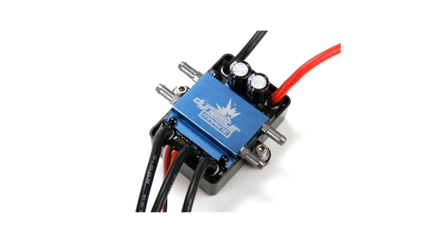 Image for 120A BL Marine ESC 2-6S from HorizonHobby