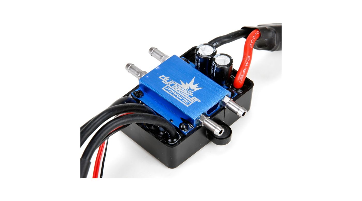 Image for 120A BL Marine ESC 2-6S Single Connector from HorizonHobby