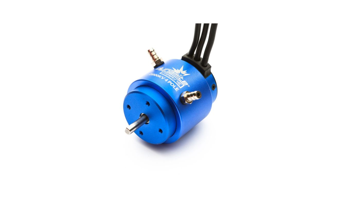Image for 2000Kv 4-Pole Brushless Marine Motor, 36x50mm from HorizonHobby
