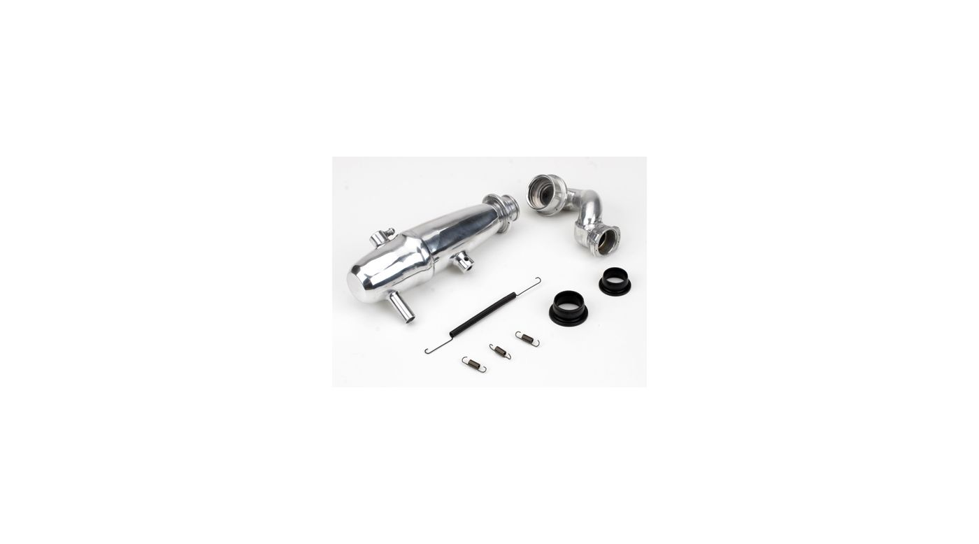 Image for 1/10 Revo Power Inline Exhaust System: Polished from HorizonHobby
