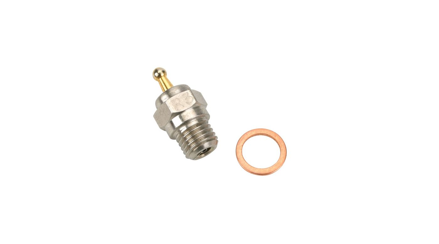 Image for Platinum Glow Plug, #3 Hot from HorizonHobby