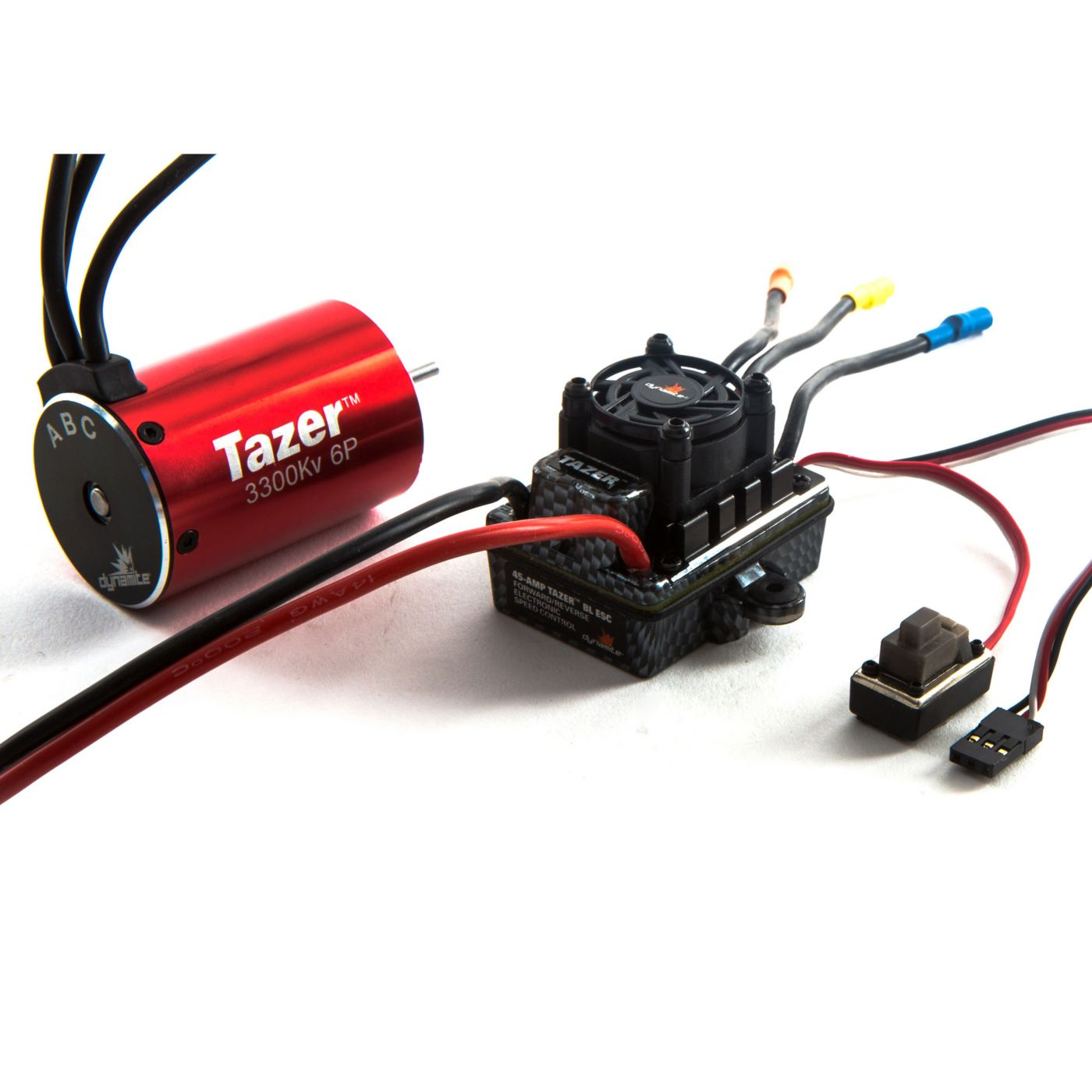 Tazer 1/10 6-Pole 3300Kv Waterproof/ESC Motor Combo V2