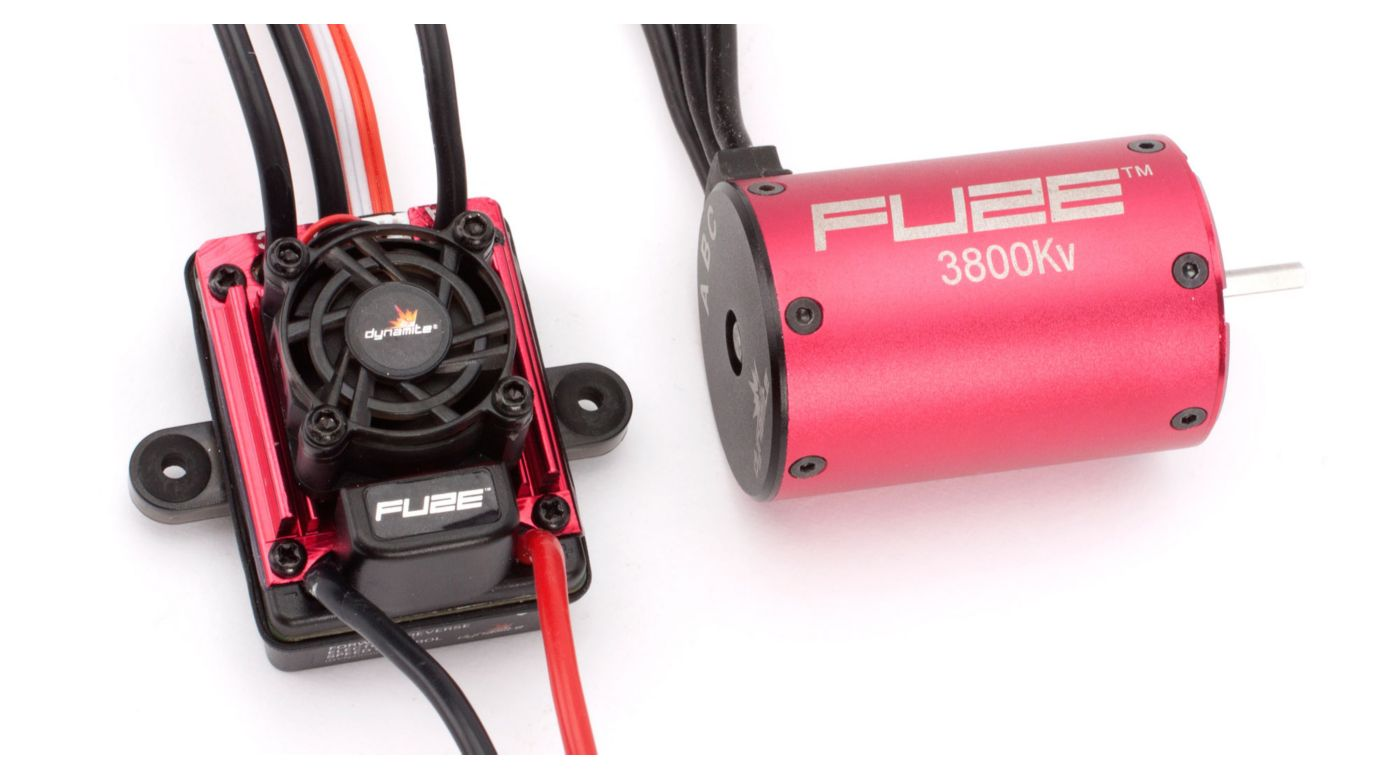 Image for FUZE 1/10 4-POLE, 3800Kv ESC/Motor Combo: SCT from HorizonHobby