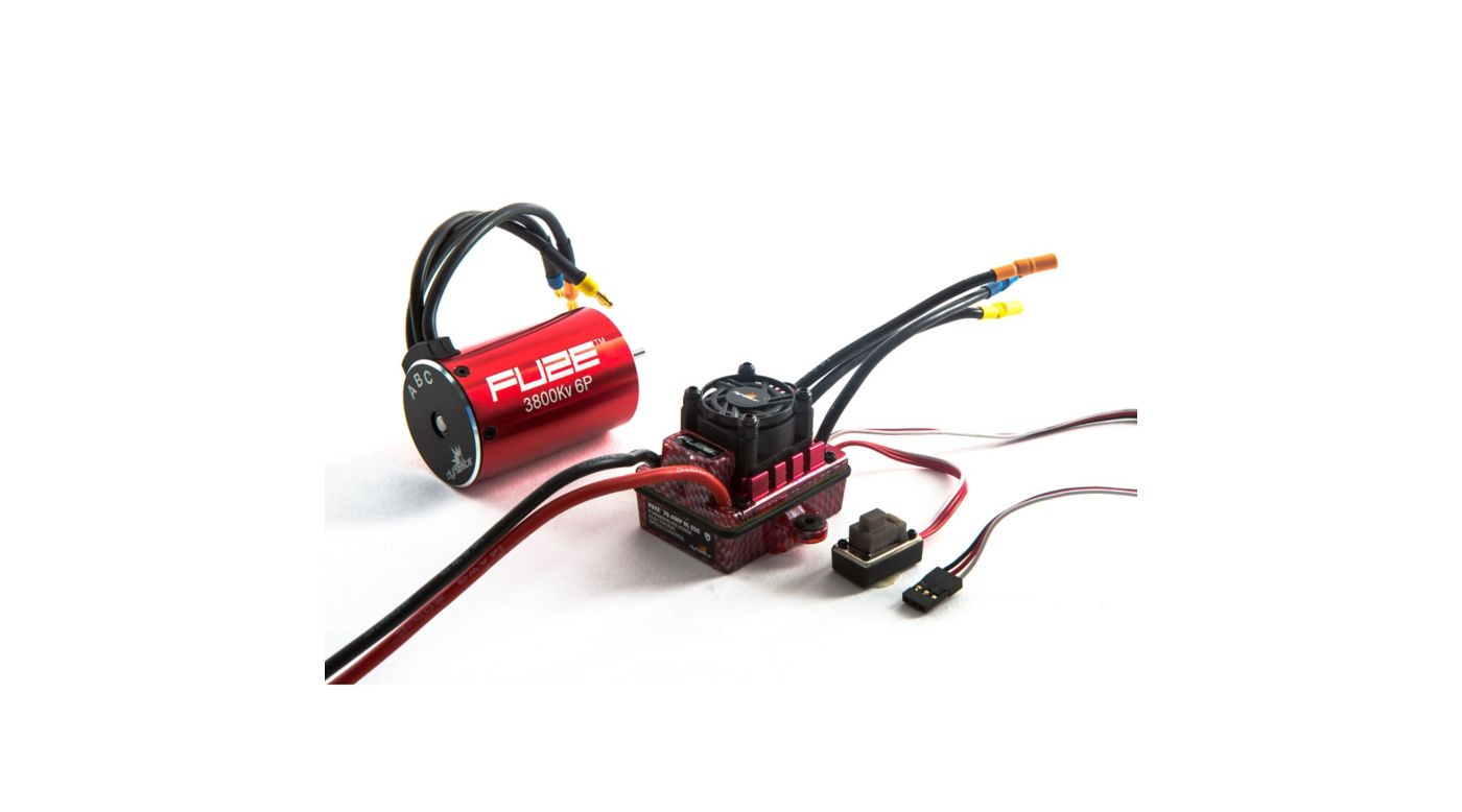 Image for Fuze 1/10 6-Pole 3800Kv Waterproof/ESC Motor Combo V2, SCT from HorizonHobby