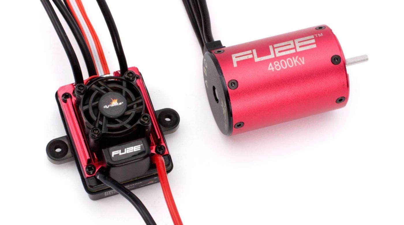 Image for FUZE 1/10 4-POLE, 4800Kv ESC/Motor Combo from HorizonHobby