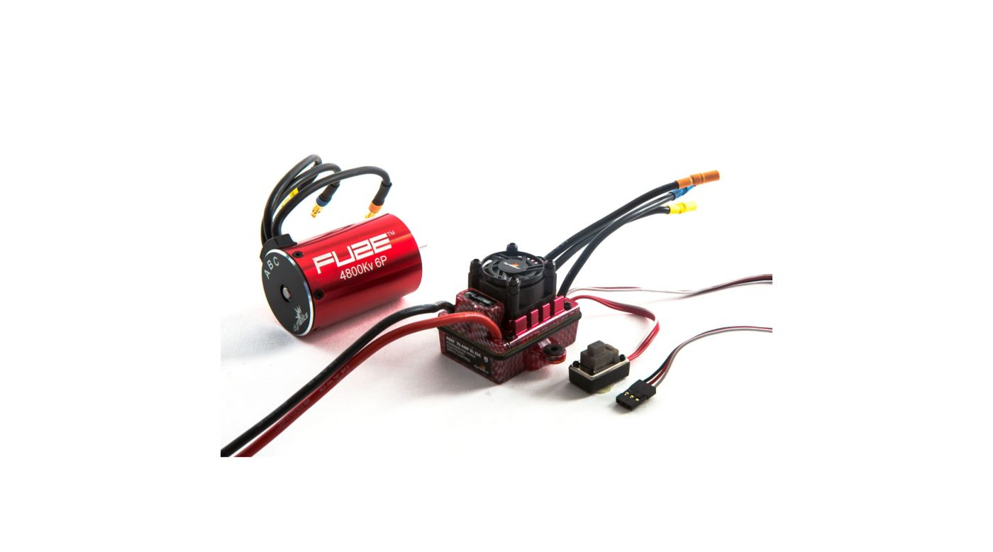Image for Fuze 1/10 6-Pole 4800Kv Waterproof/ESC Motor Combo V2 from HorizonHobby