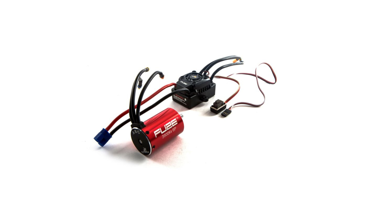 Image for Fuze 6-Pole 540 4WD SCT Waterproof Sensorless BL ESC/Motor Combo V2 from Horizon Hobby