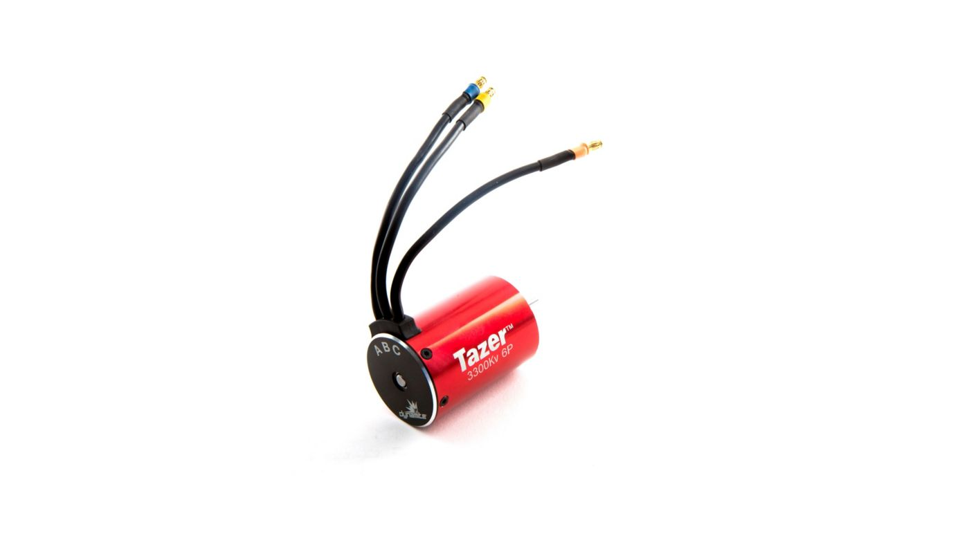 Tazer 1 10 6 Pole Brushless Motor 3300kv Sct V2