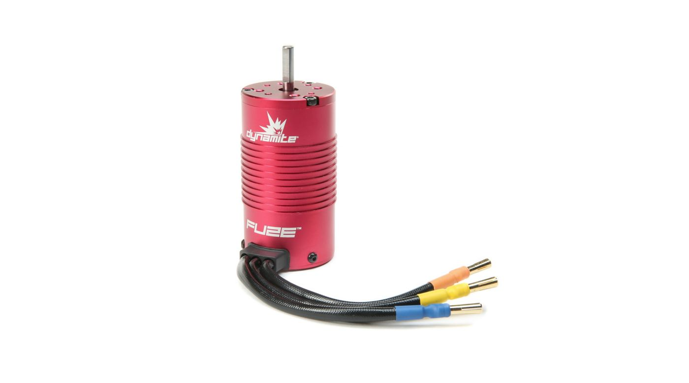 Image for Fuze 1/8 4 Pole Brushless Motor, 1600Kv from HorizonHobby
