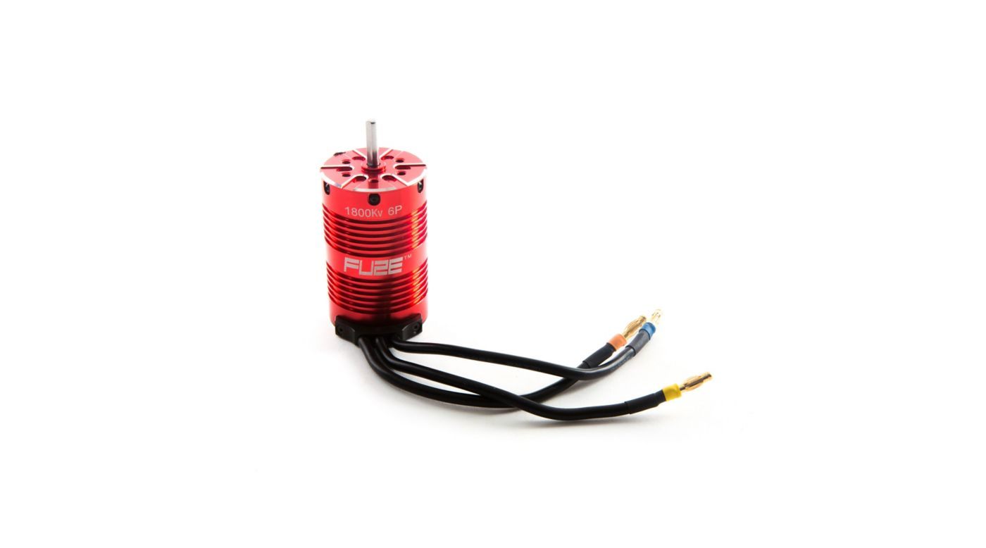 Image for Fuze 1/8 6-Pole Brushless Motor, 1800Kv V2 from Horizon Hobby