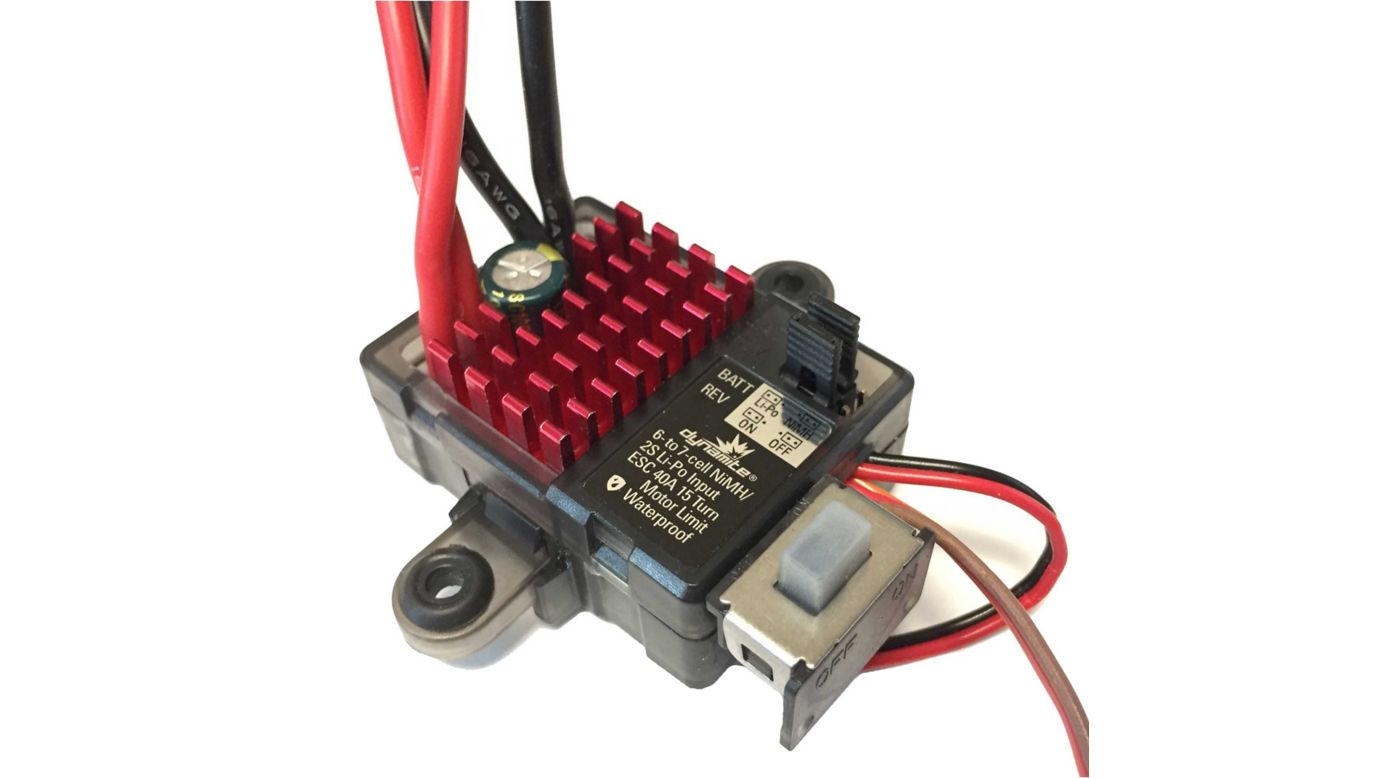 Image for RECALLED - 40A FWD REV Brushed ESC from HorizonHobby