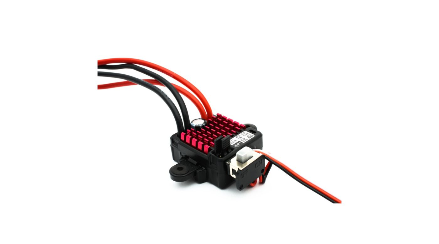 Image for WP 60A FWD/REV Brushed ESC from Horizon Hobby