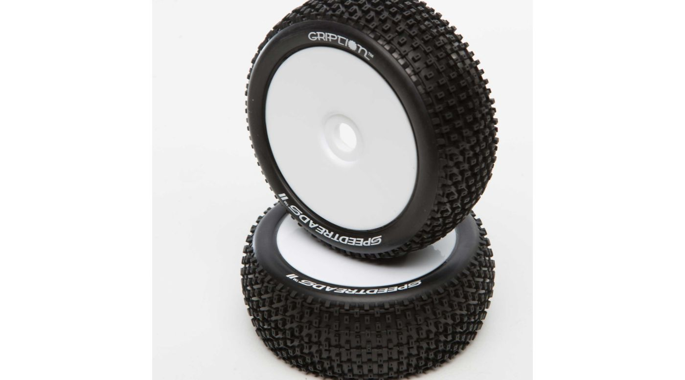 Image for Speedtreads II GRIPTION Tires (2): 1/8 Buggy from HorizonHobby