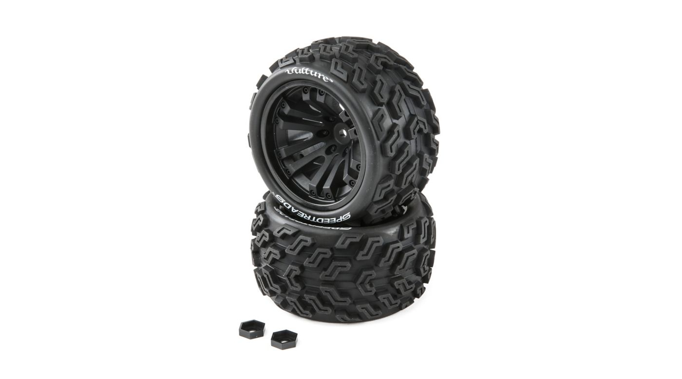 Image for Speedtreads Vulture 1/10 ST/MT Tires (2) Mounted from HorizonHobby