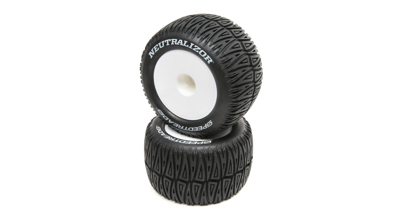 Image for Speedtreads Neutralizor 1/8 Monster Truck Tires Mounted (2) from HorizonHobby