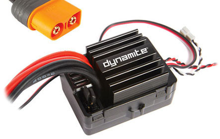 DYNAMITE® AE-5L ESC W/ DRAG BRAKE, WATERPROOF