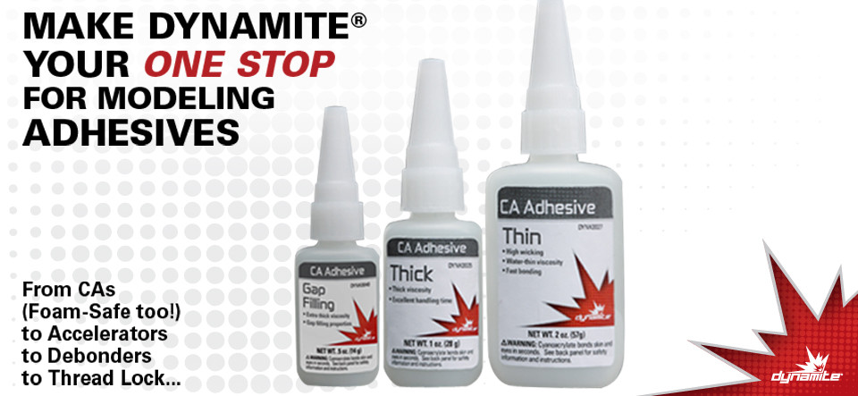 Dynamite RC CA Tire Glue
