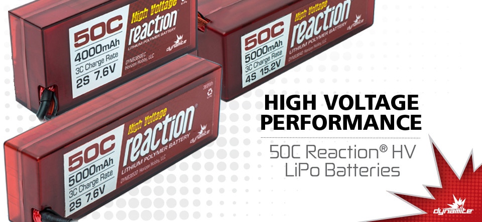Dynamite RC High Voltage LiPo Batteries