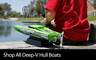 Shop All Deep-V Hull RC Boats