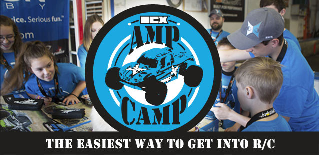 ECX Amp Camp! Learn how to build your own RC Truck!