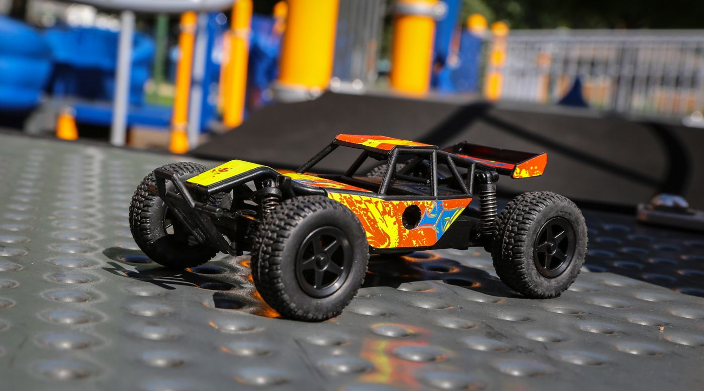 Image for 1/28 Micro Roost 2WD Buggy RTR, Yellow from HorizonHobby