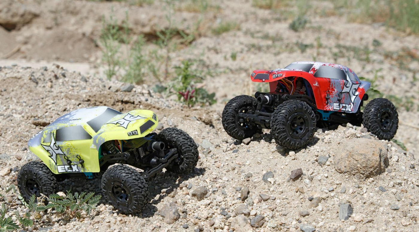 Image for 1/24 Temper 4WD Crawler Brushed RTR, Yellow/White from HorizonHobby