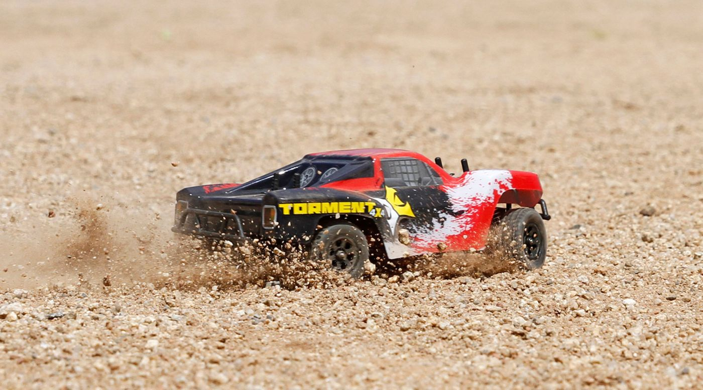 Image for 1/24 Torment 4WD SCT RTR, Black/Red from HorizonHobby