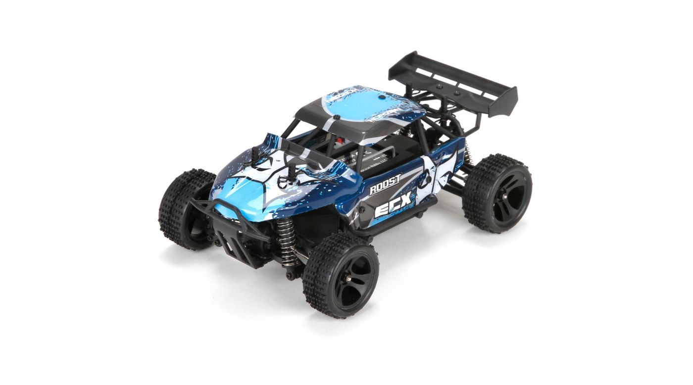 Image for 1/24 Roost 4WD Desert Buggy RTR, Blue/Grey from HorizonHobby
