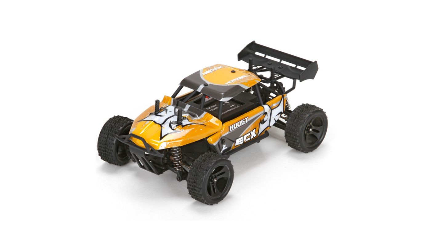 Image for 1/24 Roost 4WD Desert Buggy Brushed RTR, Orange/Grey from HorizonHobby